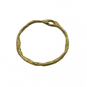 Accesorii aurii pandantiv cerc 21mm