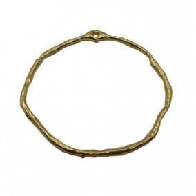 Accesorii aurii pandantiv cerc 42mm