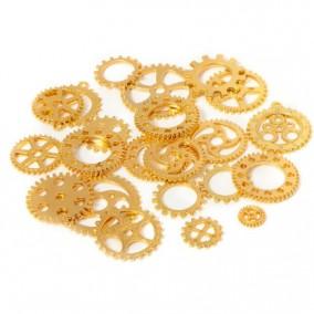 Accesorii aurii mecanisme rotite ceas amestec 100g