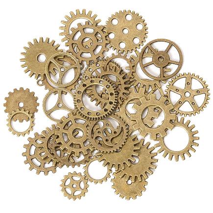 Accesorii bronz mecanisme rotite ceas amestec 100g