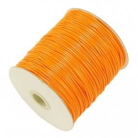 Ata cerata fir lucios 1mm galben oranj 10m