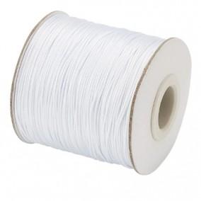 Ata cerata fir nylon lucios grosime 0.5mm alb rola 150m