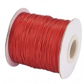 Ata cerata fir nylon lucios grosime 0.5mm rosu rola 150m