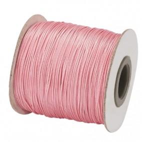 Ata cerata fir nylon lucios grosime 0.5mm roz rola 150m