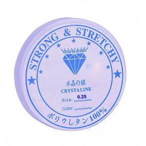 Guta elastica transparenta Crystaline 0,25mm