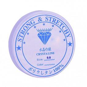 Guta elastica transparenta Crystaline 0,8mm