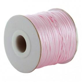 Snur satin roz rotund 3mm (10m)