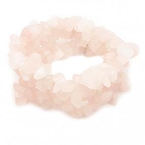 Bratara chips cuart roz latime 25mm