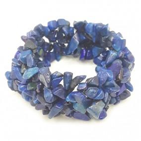 Bratara chips lapis lazuli vopsit latime 25mm