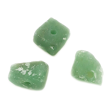 Margele aventurin verde pietre chips neslefuit 15x10mm