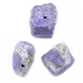 Margele lapis lazuli pietre chips neslefuit 20x15mm