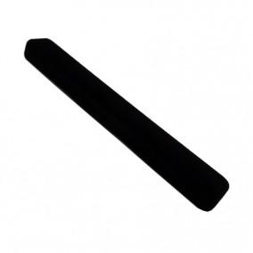 Cutie bratara catifea neagra 23x3x2cm