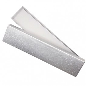 Cutie cadou bratara argintiu marmorat 20,5x4,5x2,5cm