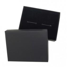 Cutie cadou butoni negru 9x7x3cm