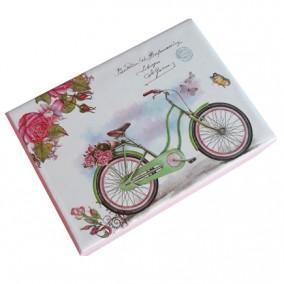 Cutie pentru cadou bicicleta 11x8x6cm