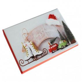 Cutie pentru cadou patine 11x8x6cm