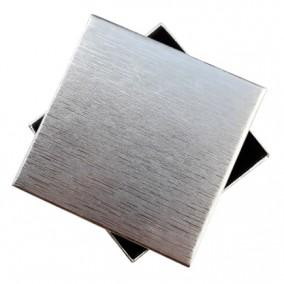 Cutie cadou set bijuterii argintie 9x9x2.5cm
