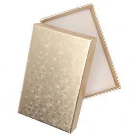 Cutie cadou set bijuterii auriu marmorat 8x5x2,5cm