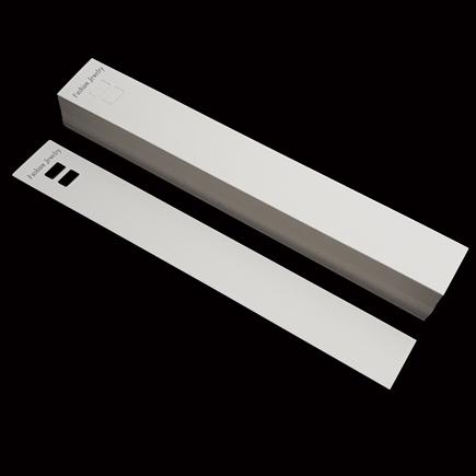 Etichete carton alb expunere bratara 21x3cm 100buc