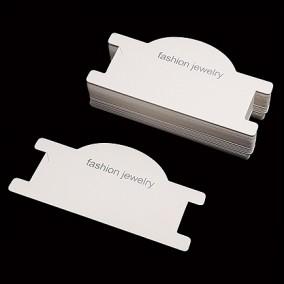 Etichete carton alb expunere bratara 9x5cm 100buc