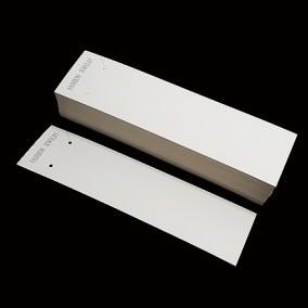 Etichete carton alb expunere colier 20x5cm 100buc