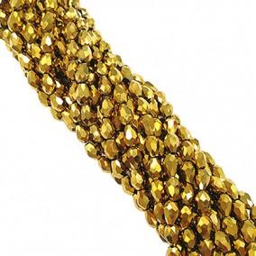 Margele cristale sticla lacrima auriu 12x8mm sirag 68cm