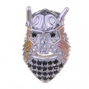 Margele micropave viking argintiu 10mm