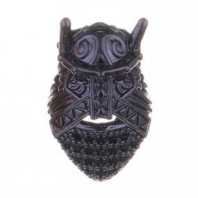 Margele micropave viking negru 10mm