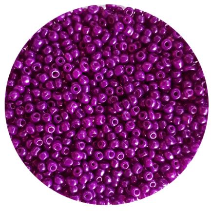 Margele nisip 3mm violet opac