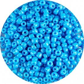 Margele nisip 4mm bleu cyan opac