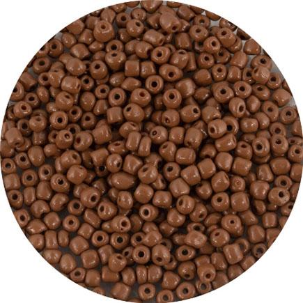 Margele nisip 4mm cafea cu lapte opac