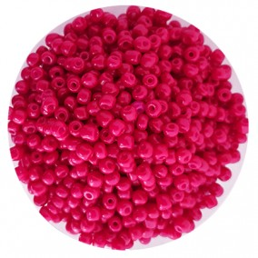 Margele nisip 4mm fucsia opac
