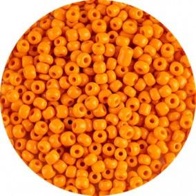Margele nisip 4mm portocaliu pal opac