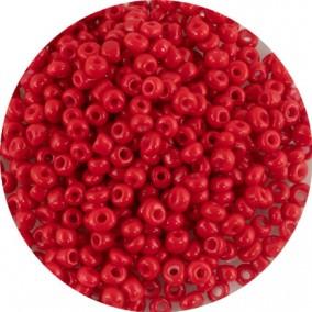 Margele nisip 4mm rosu opac
