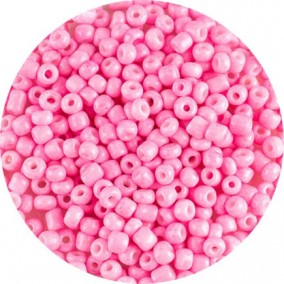 Margele nisip 4mm roz opac