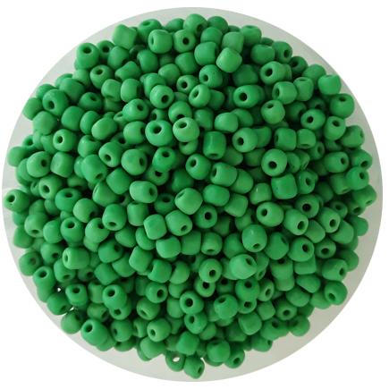 Margele nisip 4mm verde menta opac