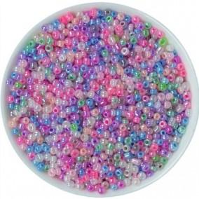 Margele nisip 2mm amestec perlat