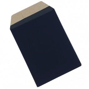 Plic cadou bijuterii cartonat cu banda adeziva negru mat 15x10cm