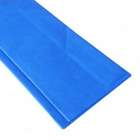 Hartie pentru impachetat tissue paper albastru cyan 65x50cm 10 coli