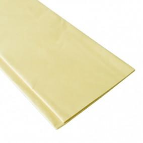 Hartie pentru impachetat tissue paper galben 65x50cm 10 coli