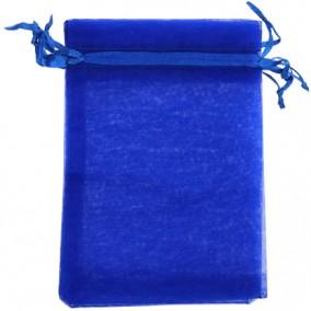 Saculeti organza albastru regal 18x13cm