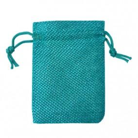 Saculeti panza in verde smarald 9x7cm