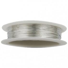 Sarma modelaj argintie 0,5mm rola 9m