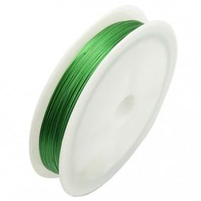 Sarma plastifiata verde 0,3mm rola 100m