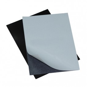 Folie magnetica cu adeziv 15x10cm gros 06mm