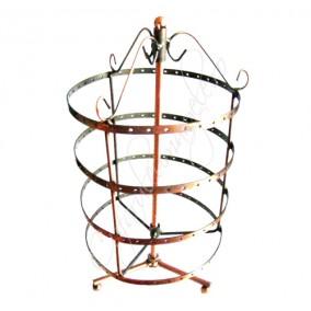 Suport cercei cilindric rotativ 28x15cm