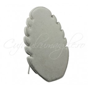 Suport coliere catifea gri 20x28 cm