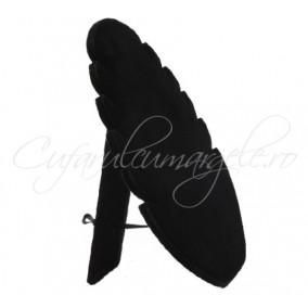 Suport coliere catifea neagra 20x28 cm