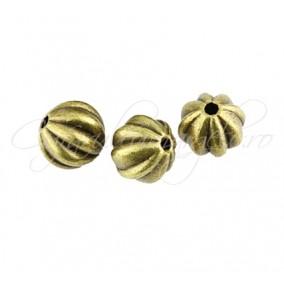 Margele metalice sfera bronz 9mm