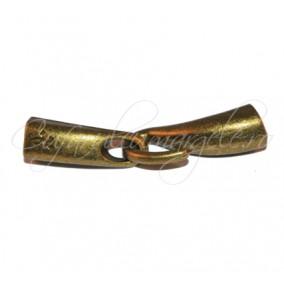 Inchizatori bronz 2 piese cu carlig 45 mm
